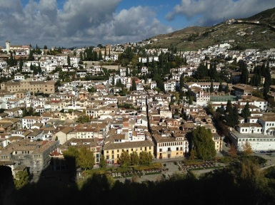 View of Albaicin from the Alhambra