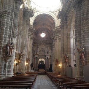 Jerez Cathedral interior