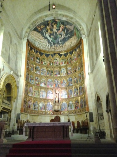 Old cathedral - Interior