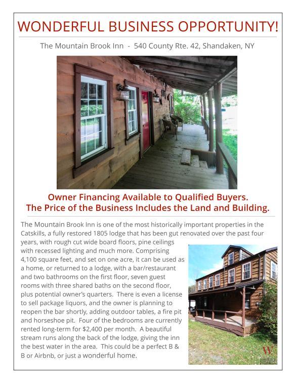 Mountain Brook Inn Show Sheet1 blog